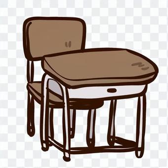 椅子和桌子的學校