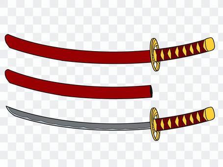 幻想武器3-3武士刀