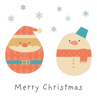 可愛的聖誕留言卡 2