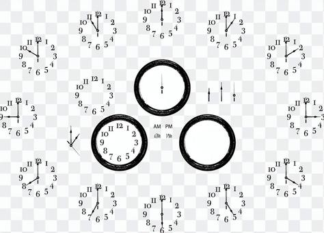時計 時間 セット