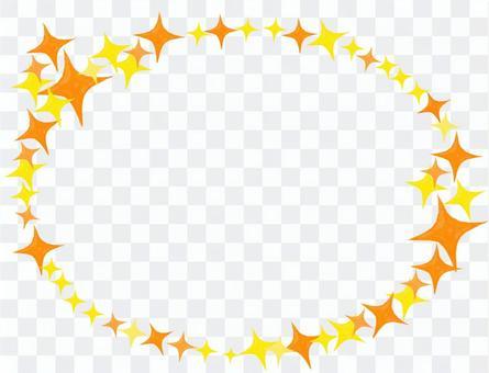 閃光橢圓框架