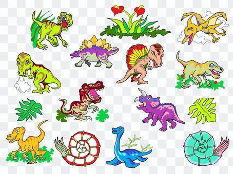 ゆかいな恐竜たち②