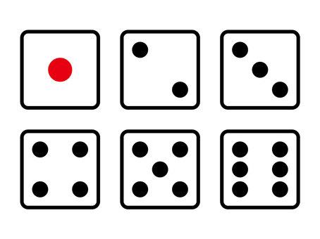 6 dice