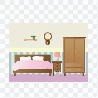 這對夫妻的臥室