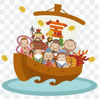 寶船七幸運的上帝
