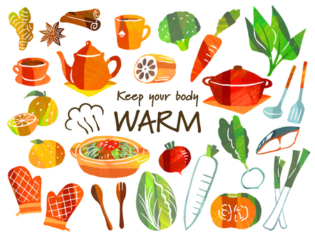 Winter food that warms the body