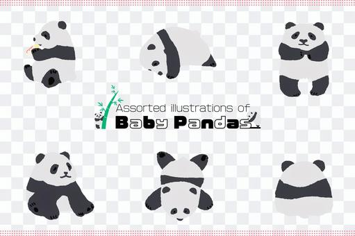 熊貓字符圖