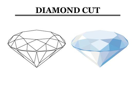 鑽石切割圖(側視圖)【2】