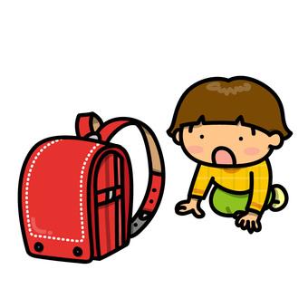 書包和女孩(驚訝ver。)