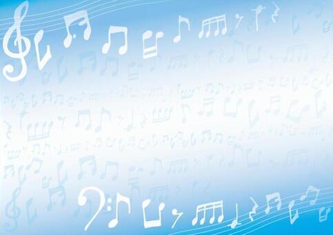 Musical score frame of Toriso and Bokin