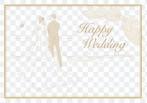 婚禮婚禮留言卡