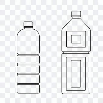 PET瓶線條藝術