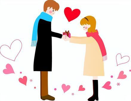 情人節的插圖
