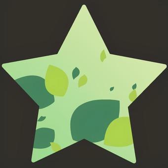 星型の夏なイメージ