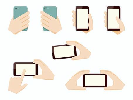 手機平板操作智能手機