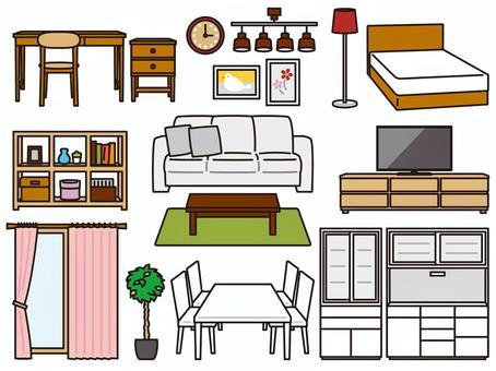 家具 インテリア雑貨 セット