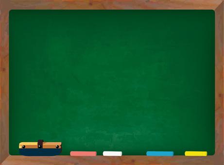黑板背景牆紙小學初中高中教訓研究木製框架