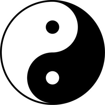 Yin and yang b