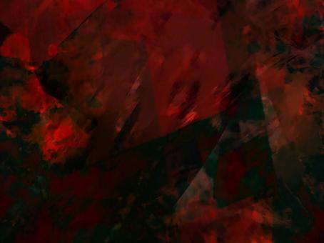 黑色和紅色的夢幻般的紋理背景
