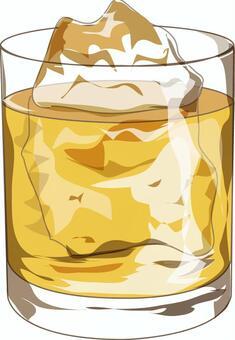 威士忌岩石