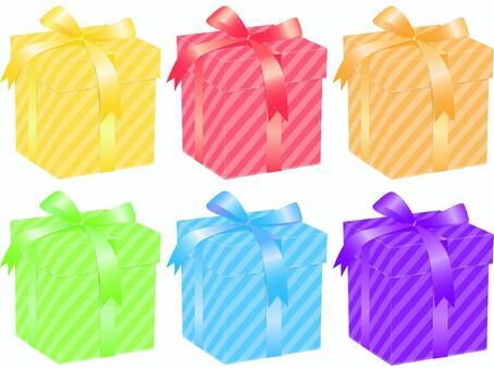 Present - 1 unified color 6 colors