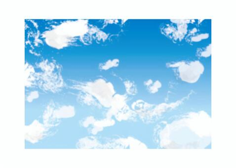 天空和雲彩