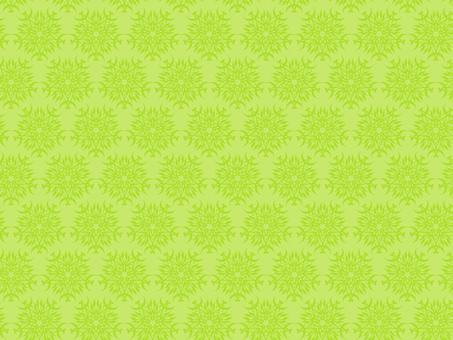 Antique style pattern 63 yellowish green