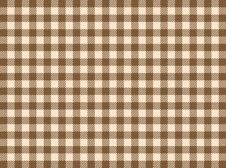 方格布式(棕色)