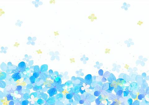 季節素材086 紫陽花