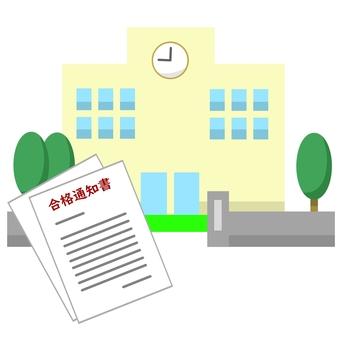 錄取通知書和學校