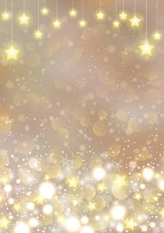 聖誕照明背景框架