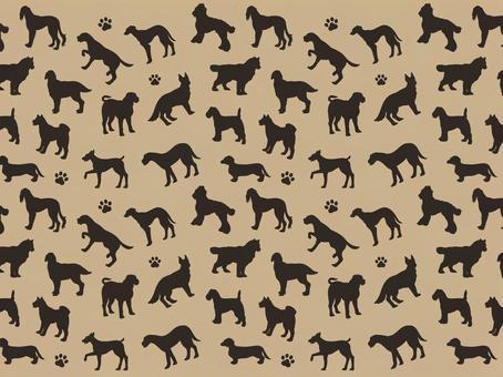 Animal pattern - dog