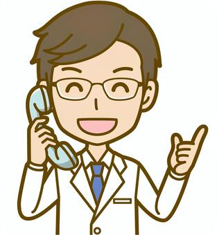 Male (doctor): A_phone 03BS