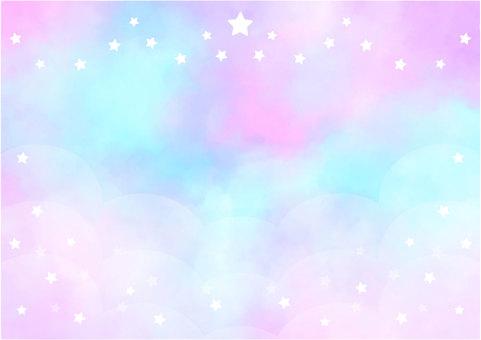 水彩畫框-夢川1