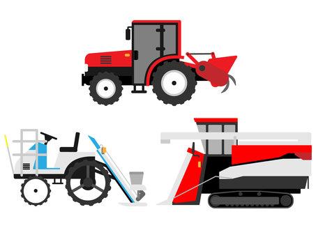 工作車農業機械農業機械