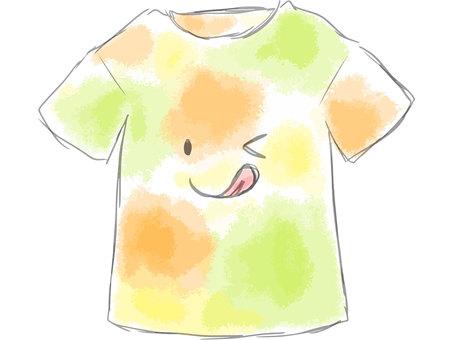 Tシャツ ぺろっ
