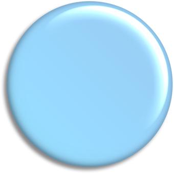 可以徽章[藍色]