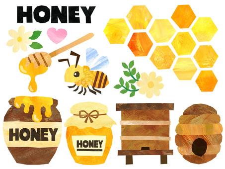 Honey material