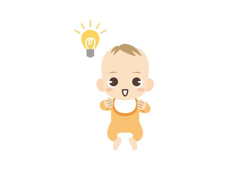 B308_赤ちゃん_ひらめく