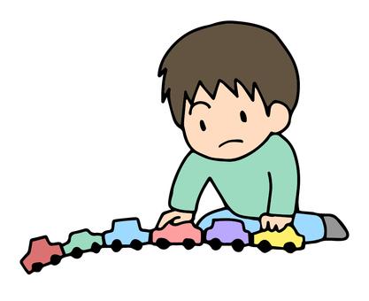 我喜歡一個人靜靜地排隊玩具