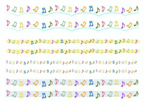 G-clef _劃線的筆記