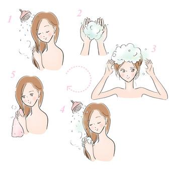How to shampoo