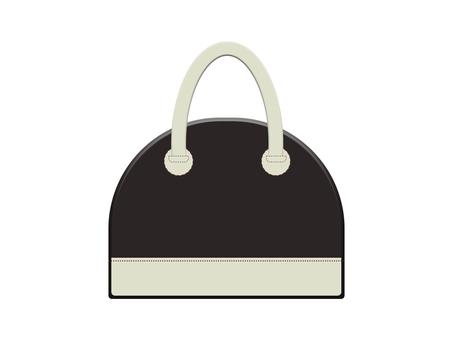 Leather bag 12-3 (black)