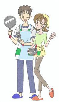 Kitchen (couple)