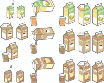 Pack drinks summary