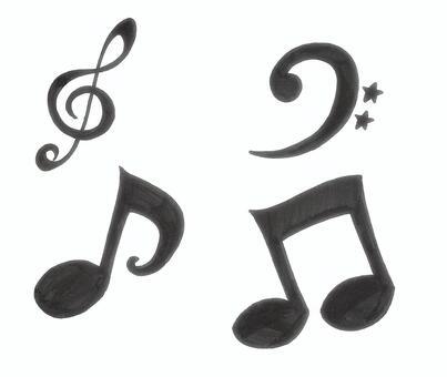 Musical note tokyo symbol