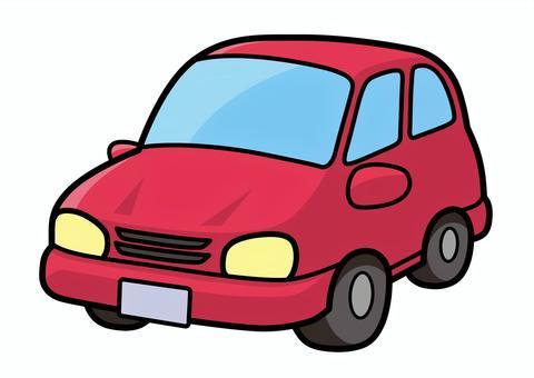 車2(紅色)的插圖