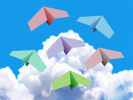 隧道和紙飛機