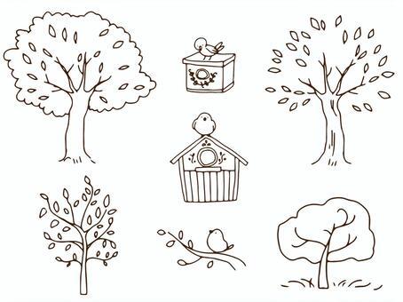Tree · Nest Box Pen Set
