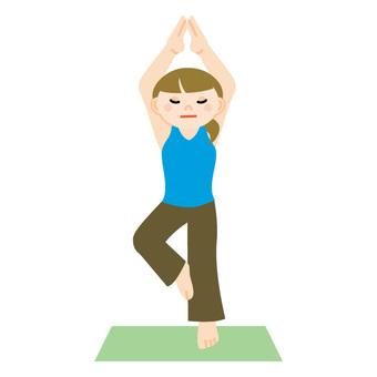 Female to do yoga 4